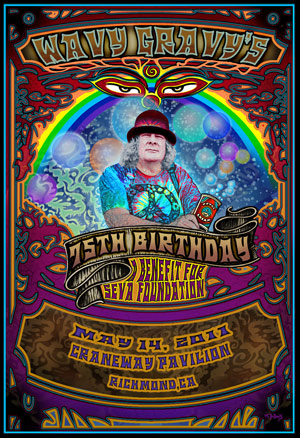Wavy Gravy's 75th Birthday at the Craneway Pavilion!