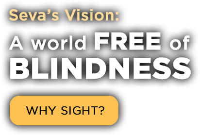 Seva's vision: A world free of blindness.