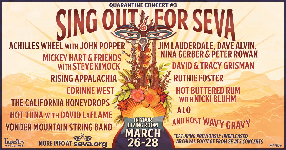 Sing Out For Seva March 26-28, 2021